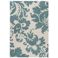 Jaipur Daphne Rug From Devine Collection DEV21 - Blue/Ivory